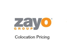 zayo colocation pricing